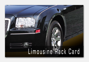 Crown Limo Rack Card