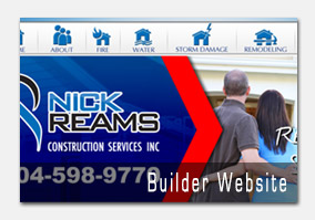 Nick Reams Construction Web Site