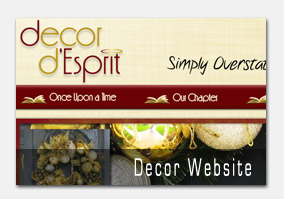 Decor Desprit Website