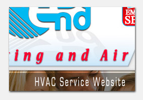 West end Heating and air Web Design